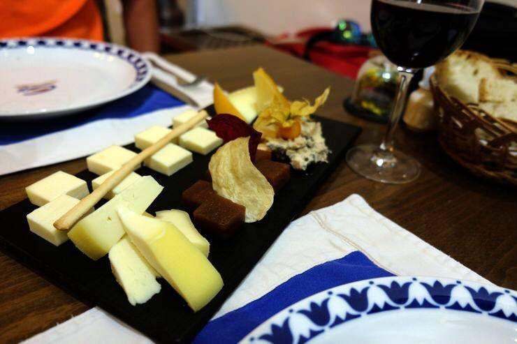 comer en el Camino de Santiago