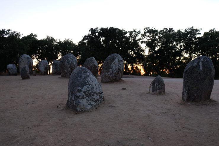 Recinto megalitico en Evora