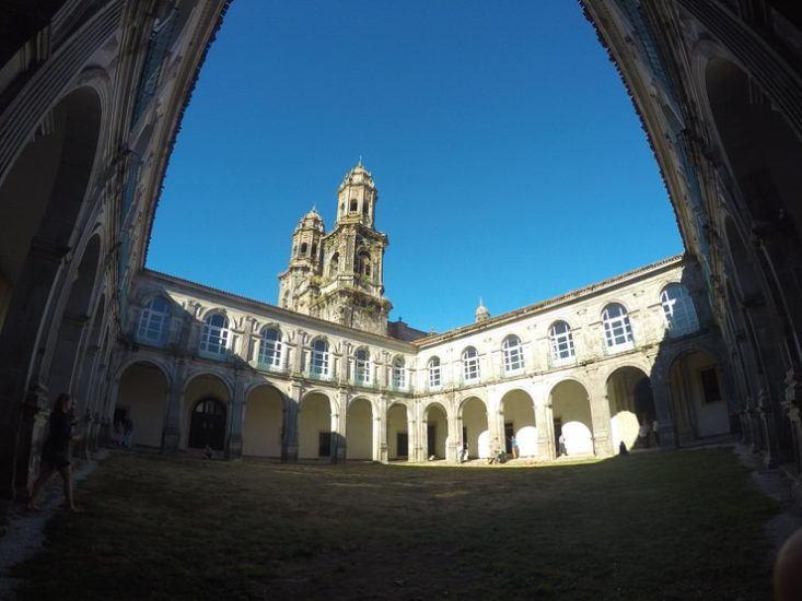 Interior del Monasterio de los Monjes