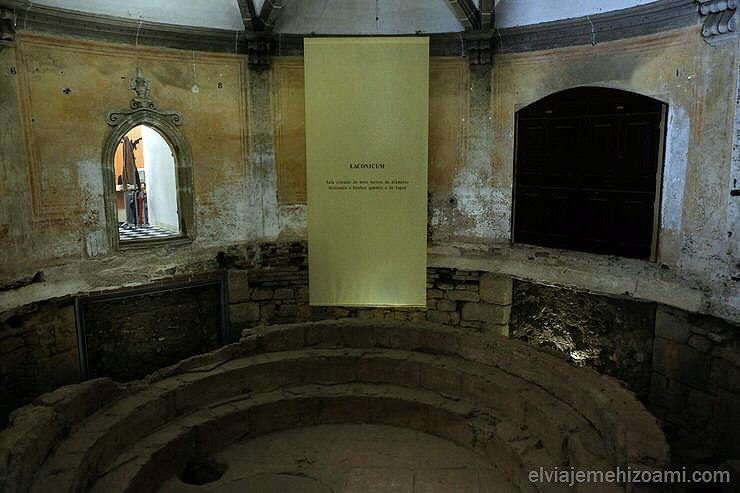 termas romanas en Évora