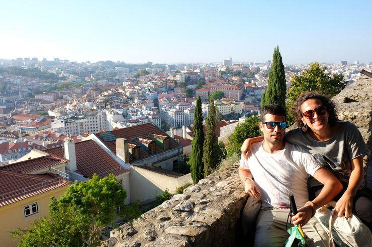 En el castillo de San Jorge