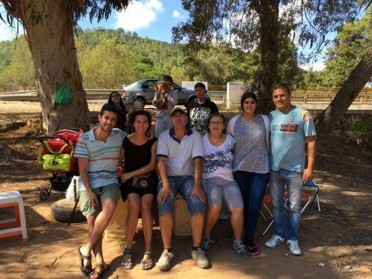 Gran familia portuguesa que nos trataron genial