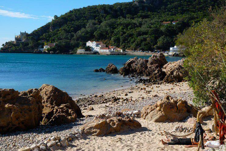 Playas alrdedores de Lisboa. donde relajarse y estar tranquilo