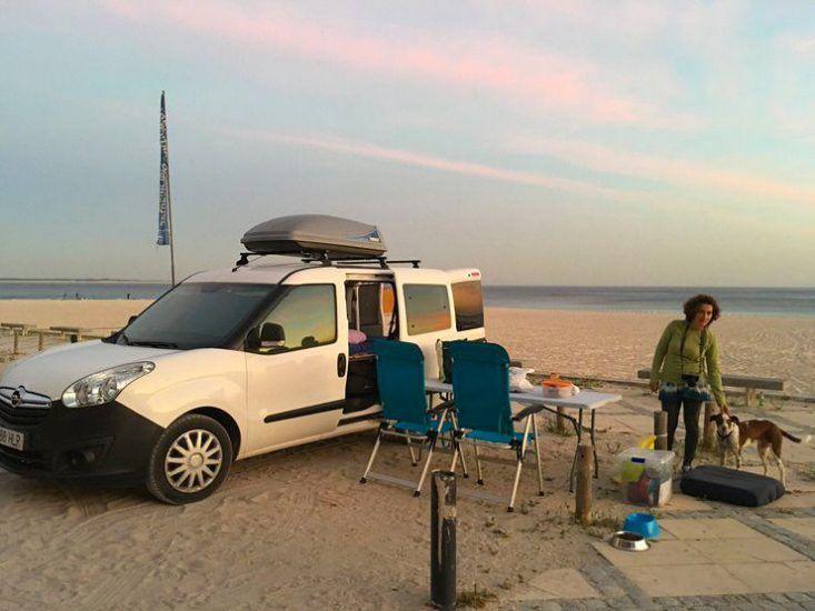 Visitar los alrededores de Lisboa. Setubal playa