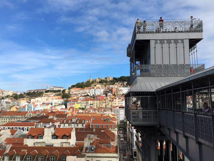 Las vistas de Lisboa son preciosas