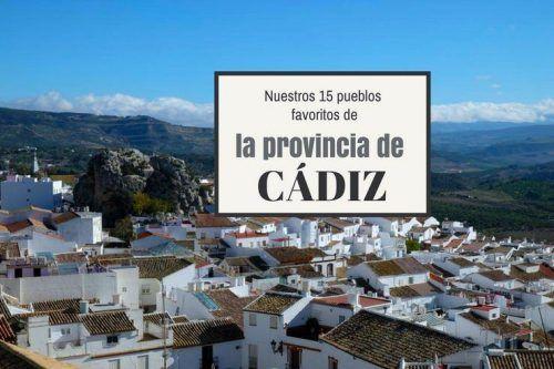 15 pueblos de Cádiz