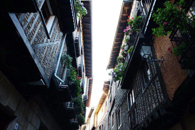 Construcciones tradicionales de La Alberca
