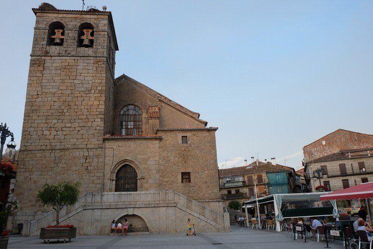 La plaza Mayor de Béjar