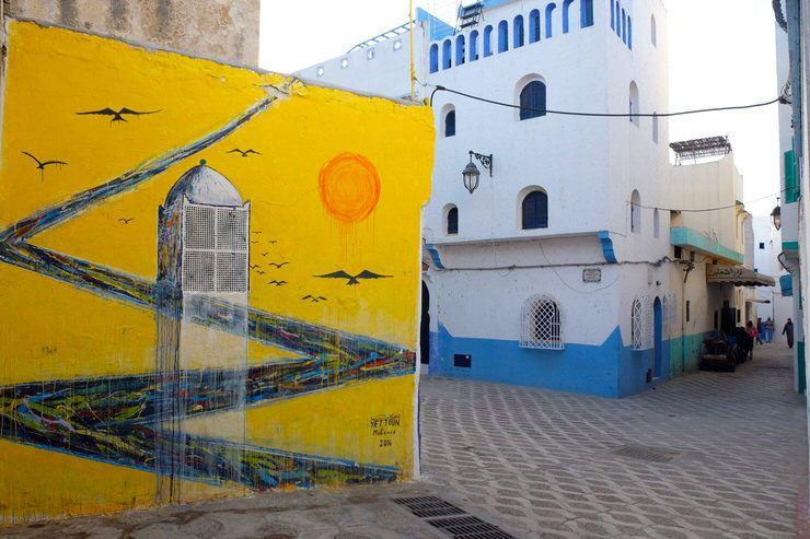Arte urbano en Larache