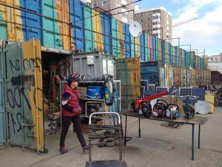 Black market. Mongolia. El viaje me hizo a mi