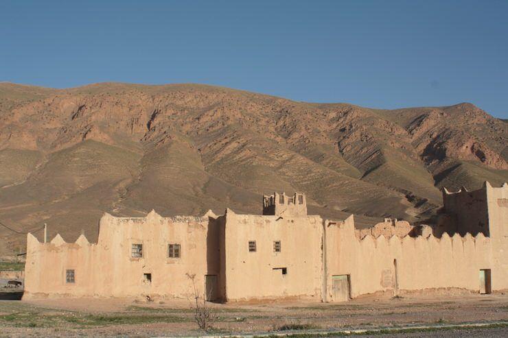 De camino al desierto de Marruecos