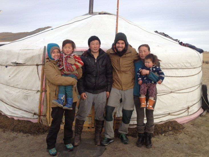 Con la familia. Mongolia. El viaje me hizo a mi