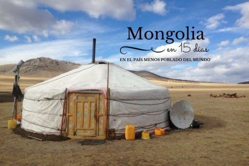 Mongolia en 15 dias pais mas despoblado del mundo