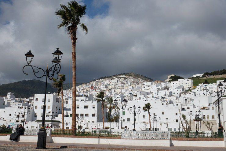Vista de Tetuan. El viaje me hizo a mi. Norte de marruecos