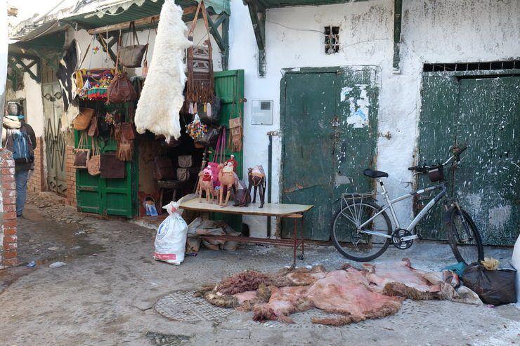 Medina de Tetuan. El viaje me hizo a mí. Marruecos norte
