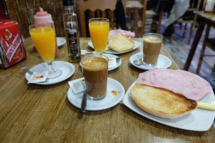 Desayuno malagueño