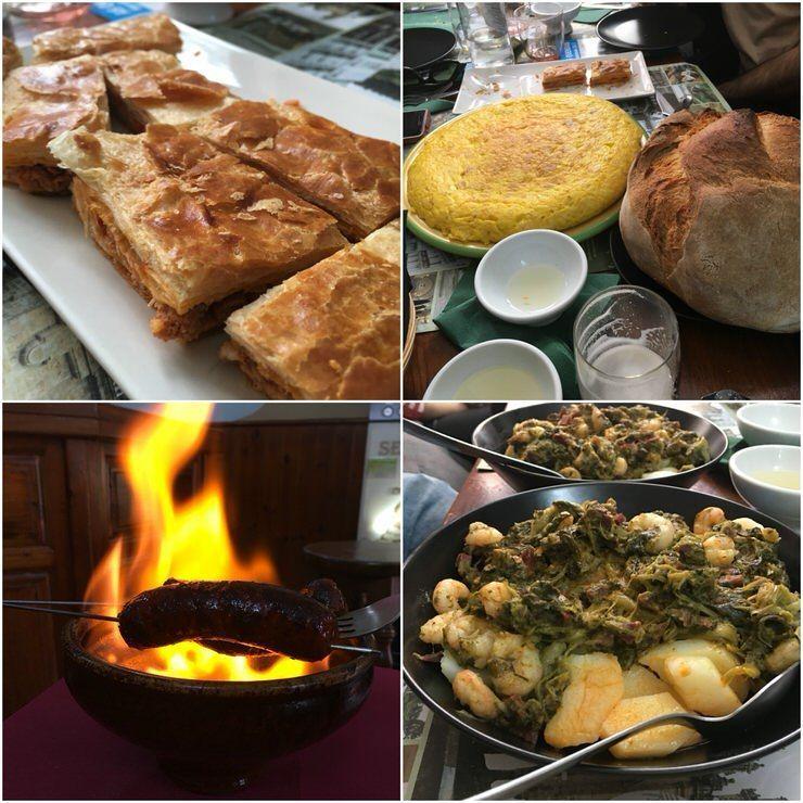 Comida tradicional gallega