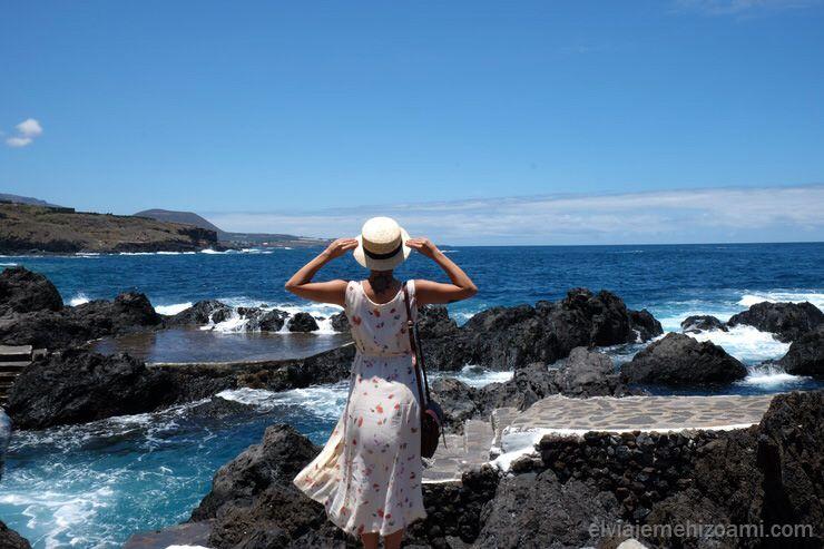 Piscinas naturales de Garachico en Tenerife. El viaje me hizo a mi