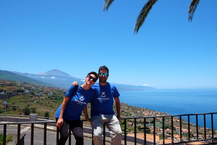 El Teide en Tenerife. El viaje me hizo a mi