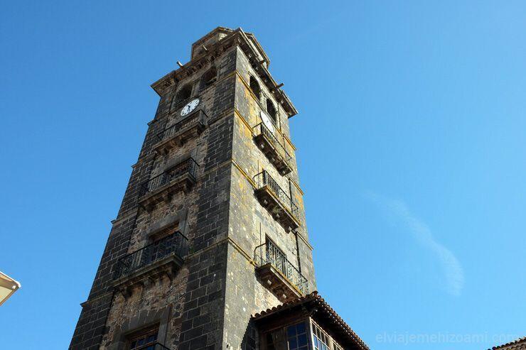 Torre de la Iglesia de la Concepción en La Laguna