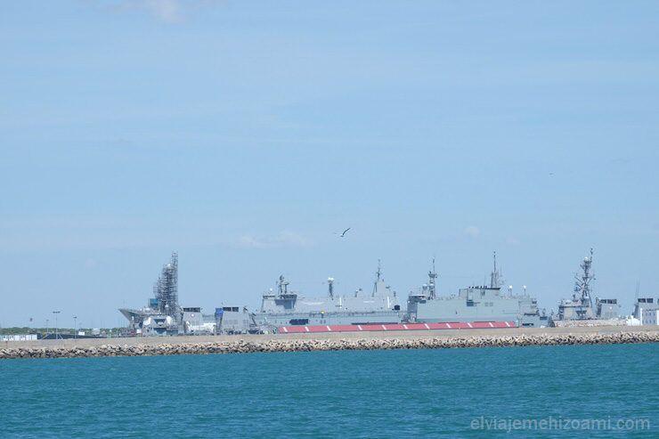Base naval de Rota. El viaje me hizo a mi