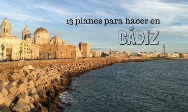 Planes para hacer en Cádiz