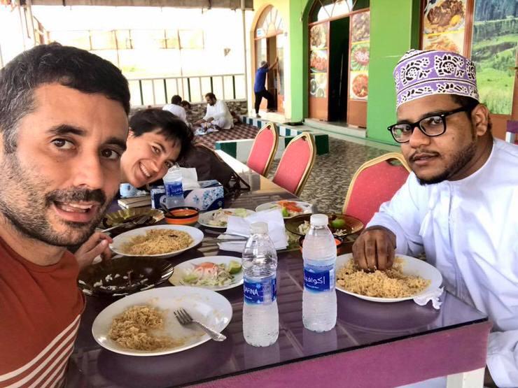 Conociendo omaníes en Couchsurfing