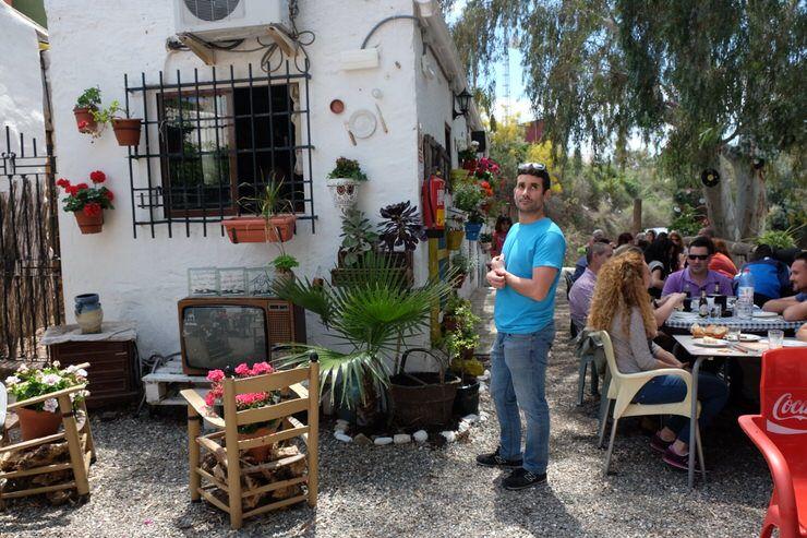Choza de Jarazmin en Malaga