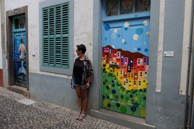 Arte urbano en Funchal