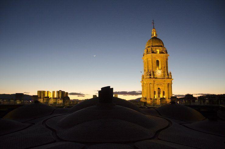 Cubiertas de la Catedral de Málaga