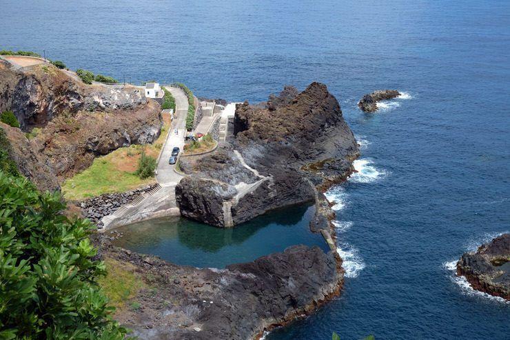 Visitar Madeira: piscinas naturales del norte de la isla