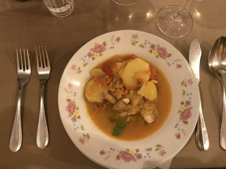 Caldereira, plato típico de Madeira