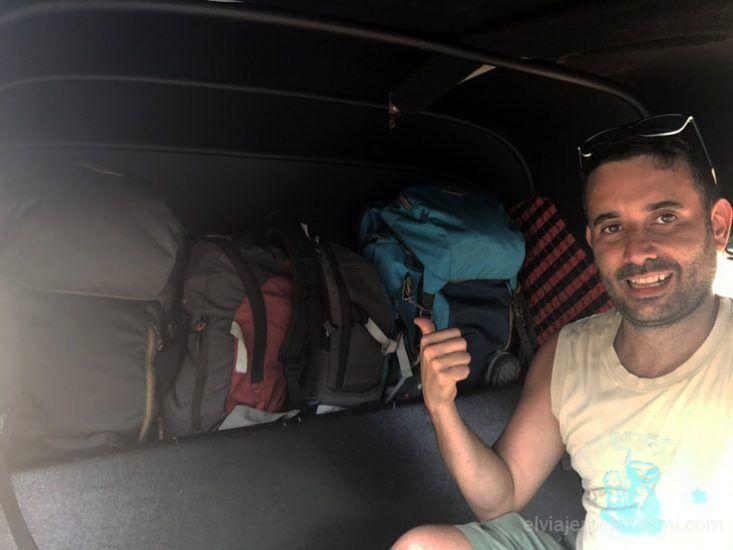 ruta con mochila Sri Lanka en tuk tuk