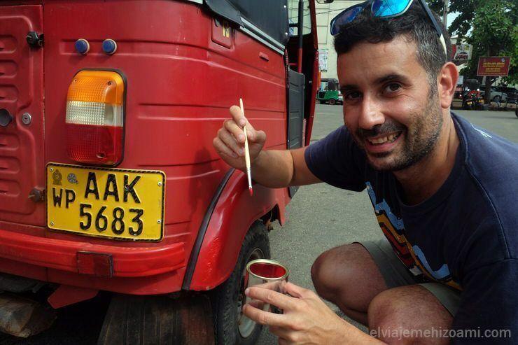 problemas tuk tuk Sri Lanka
