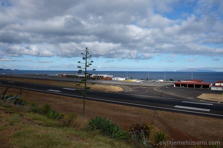 Aeropuerto Cristiano Ronaldo en Madeira