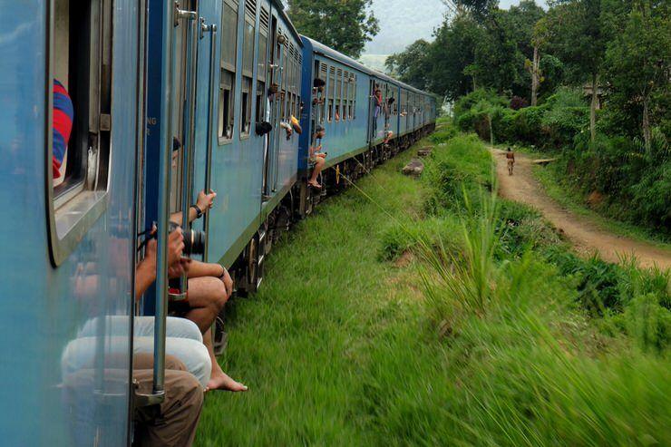 El tren de Sri Lanka