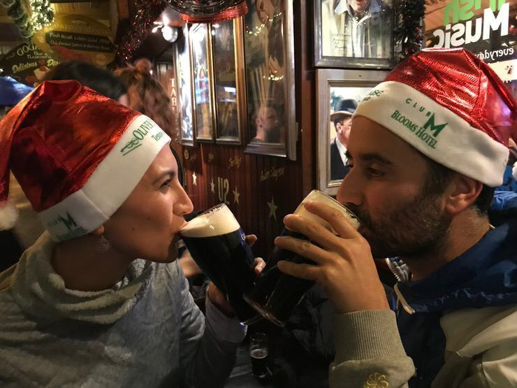 beber guinness en Dublín