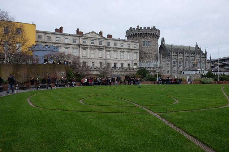 visitar el Castillo de Dublín