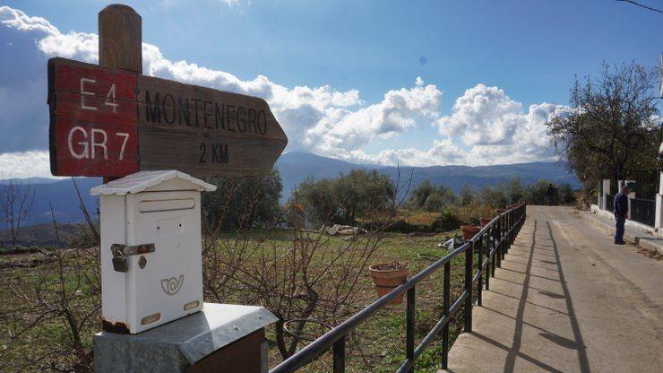 Ruta de senderismo por la Alpujarra