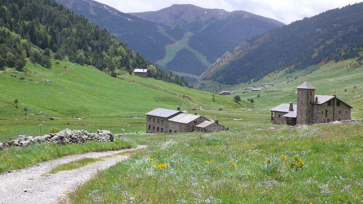 Iglesias románicas de Andorra