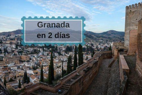 Qué hacer en Granada en 2 días y donde comer tapas ricas, ricas