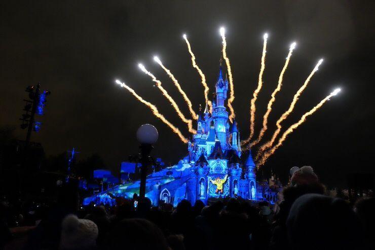 Castillo Disney en Eurodisney