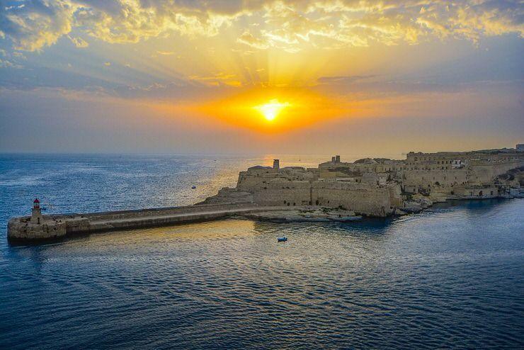 atardecer Malta