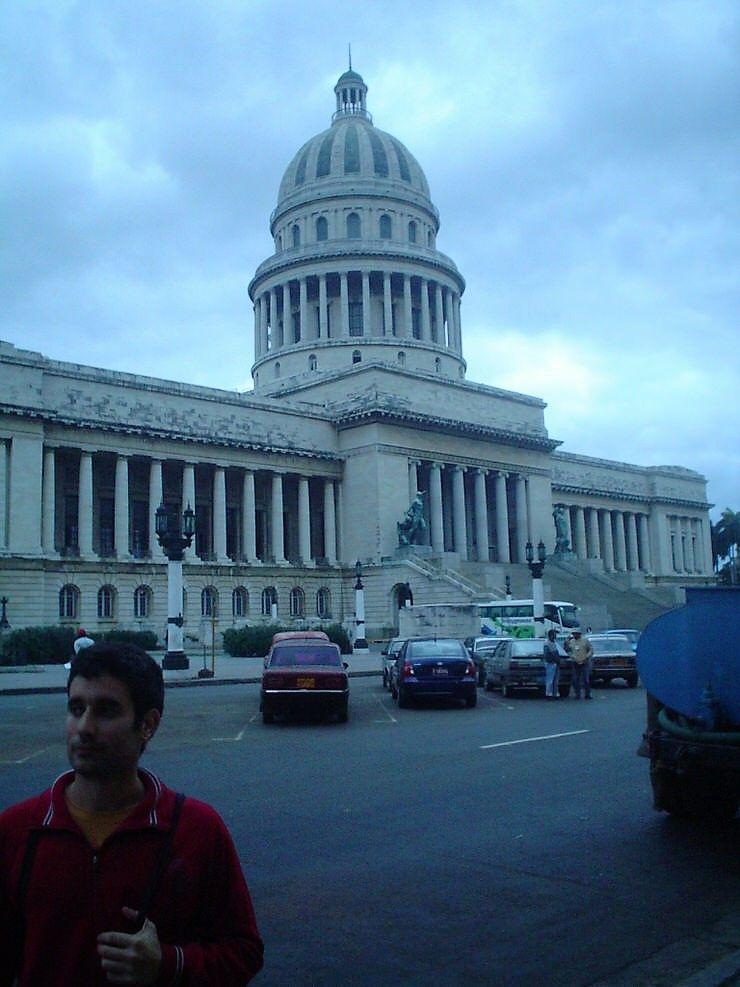 El Capitolio en Cuba