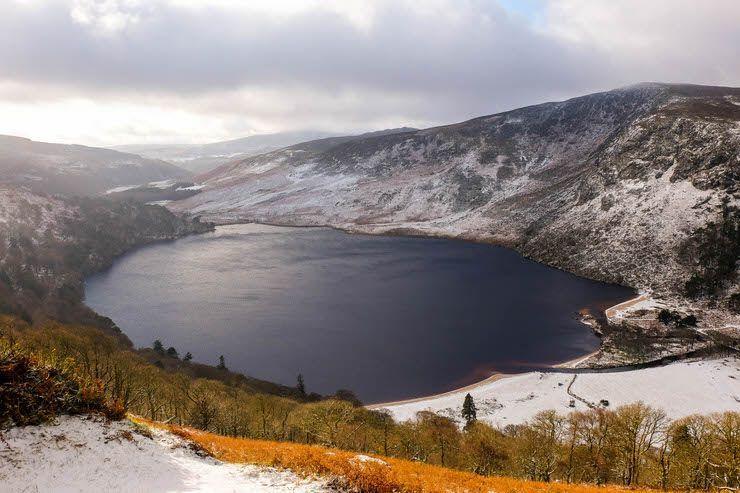 El lago Guinness por Wicklow