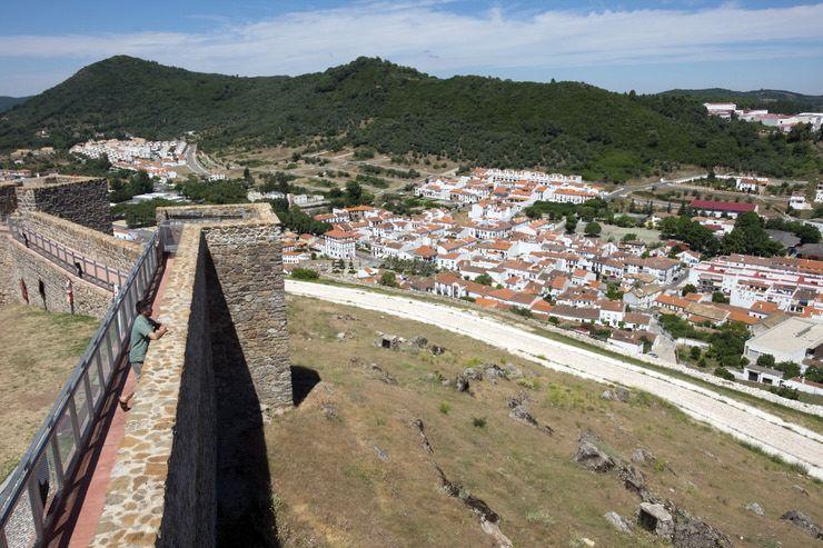 Visitar el Castillo de Aracena