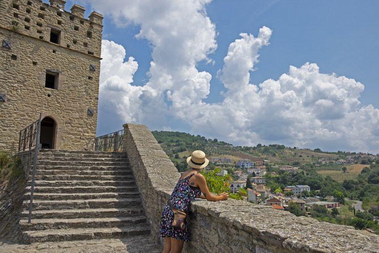 visitar el Castillo de Rocascalegna