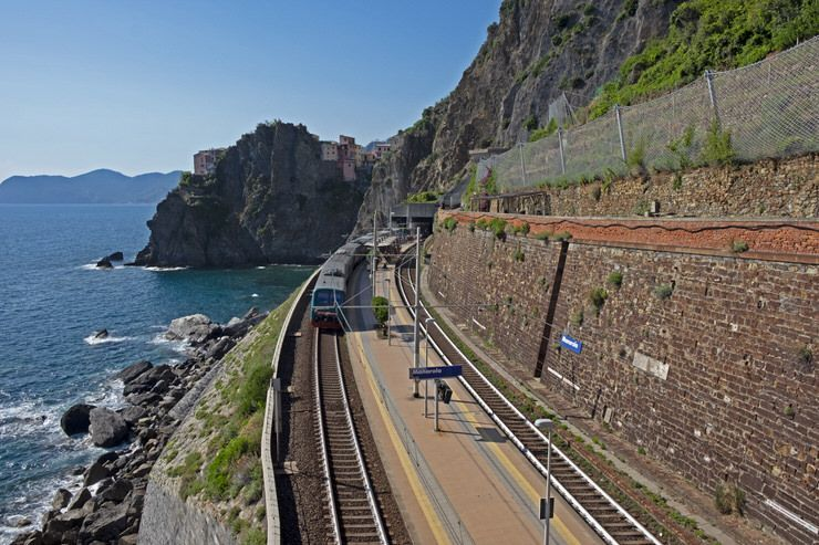 Cinque Terre en tren