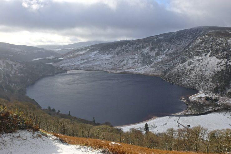 El lago Guinness
