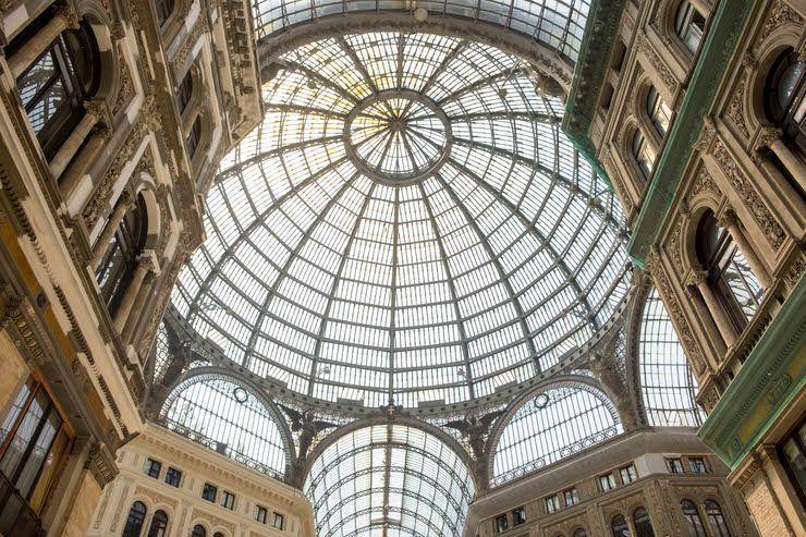 Galleria Umberto I. Nápoles